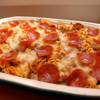 4-Ingredient Pizza Bake