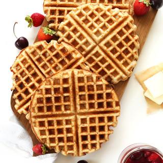 7-Ingredient Vegan Gluten-Free Waffles