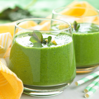 A Green Smoothie That Doesn't Taste Green