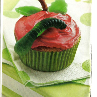 Adorable Applesauce Cupcakes