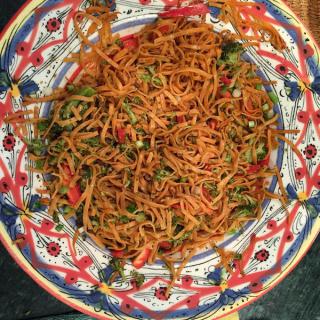 al dente's Spicy Sesame Pasta Salad