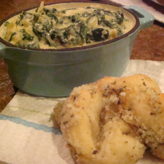 Almost-Famous Spinach-Artichoke Dip