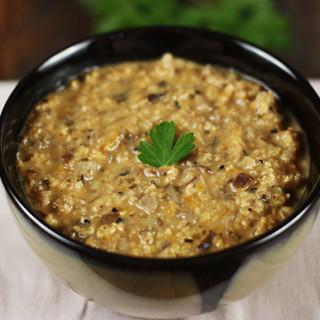 Ancient Grains & Wild Mushroom Soup