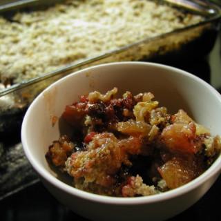 Apple-Rhubarb Crisp