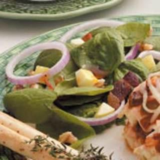 Apple Spinach Salad Recipe