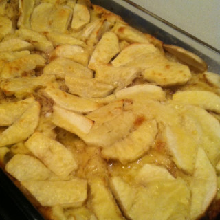 Apple Yorkshire Pudding