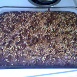 Grandma Alvera's Applesauce Chocolate Cake