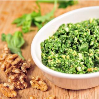 Arugula and Walnut Pesto Recipe