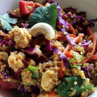 Asian Cashew Quinoa Salad
