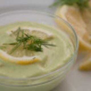 Avo-Lemon-Dill Dip (Paleo, AIP)