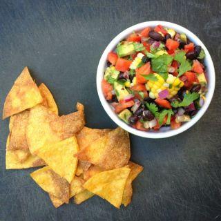 Avocado, Black Bean and Corn Salsa {Fitness Confidential eBook Review}