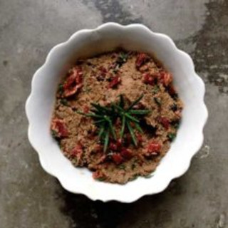 Bacon-Beef Liver Pâté with Rosemary and Thyme