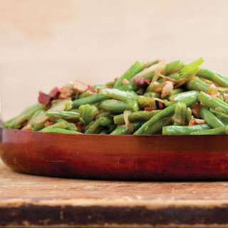 Bacon Braised Green Beans