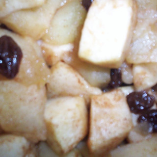 Baked Apples and Raisins