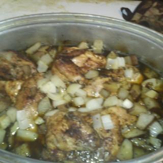 Baked Chicken Breasts-Crockpot