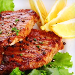 Baked Tamari-Lemon Pork Chops