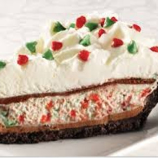 Bakers Square Candy Cane Pie