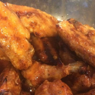 BBQ Grilled Hot Wings