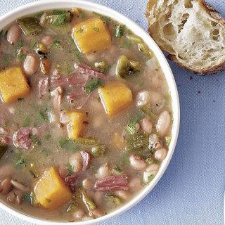 Bean and Ham Bone Soup