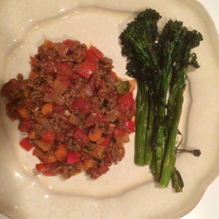 Beef and Vegetables with Smoked Paprika