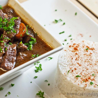 Beef Bourguignon - low Fodmap and gluten-free