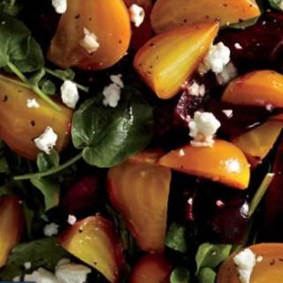 Beet Salad on Greens
