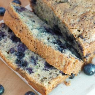 Blueberry Lemon Zucchini Bread