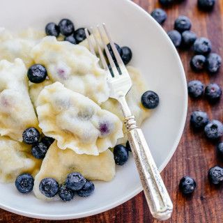 Blueberry Pierogi Recipe (VIDEO)