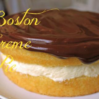Boston Creme Pie