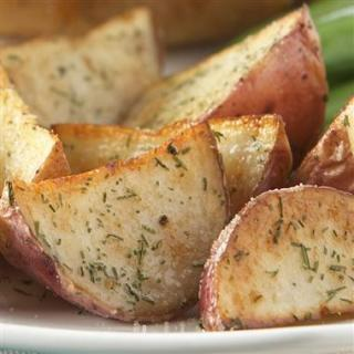 Boston Market Garlic Dill Potatoes