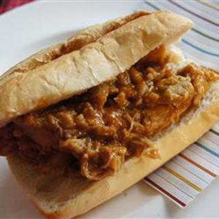 Bourbon-Mango Pulled Pork