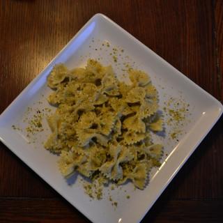 Bow Tie Pasta with Pistachio Cream