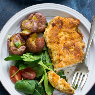 """""""Breaded"""" Paleo Chicken Cutlets {Whole30}"""
