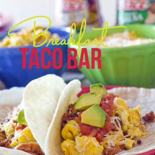 Breakfast Taco Bar