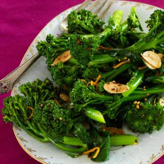 Broccolini with Citrus Vinaigrette