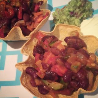 Vegetarian Tortilla Bowls