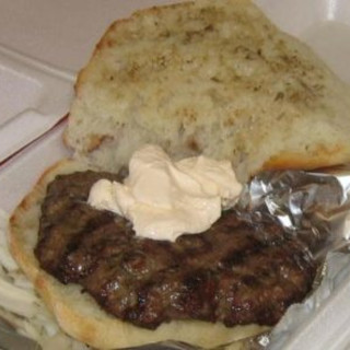 Burger Balkaneros (pljeskavica)