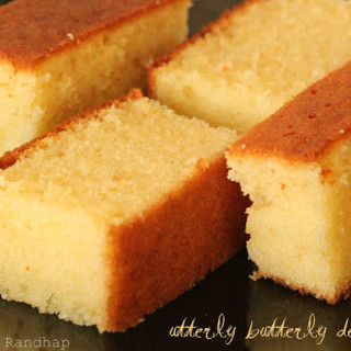Butter Cake + Video!