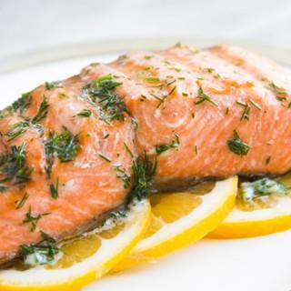 Butter Dill Salmon