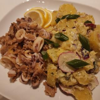 Calamari and Potato Salad