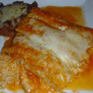 Campbell's Easy Chicken and Cheese Enchiladas