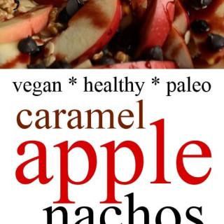 Caramel Apple Nachos