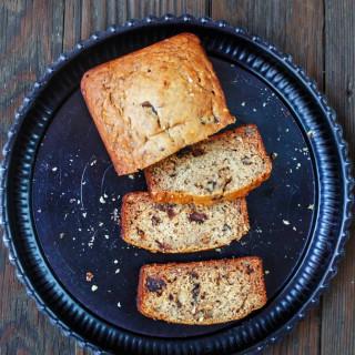 Cardamom Banana Walnut Bread (Made with Olive Oil!)