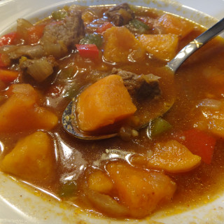 Caribbean Pepper Pot Soup