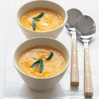 Carrot Soup With Orange, Ginger, And Tarragon