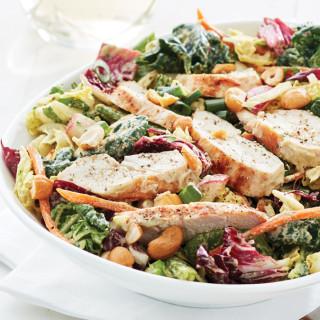 Cashew Chicken Salad with Creamy Cashew Dressing