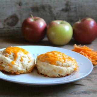 Cheddar Apple Buttermilk Biscuits