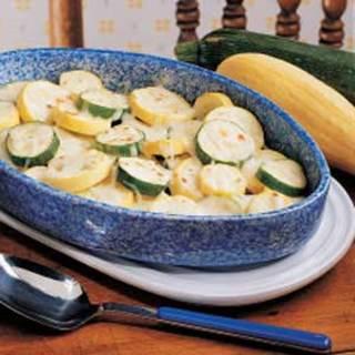 Cheesy Squash Recipe