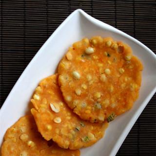 Chekkalu - Butter Pappu chekkalu Andhra snack item