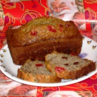 Cherry Chocolate Chip Banana Bread